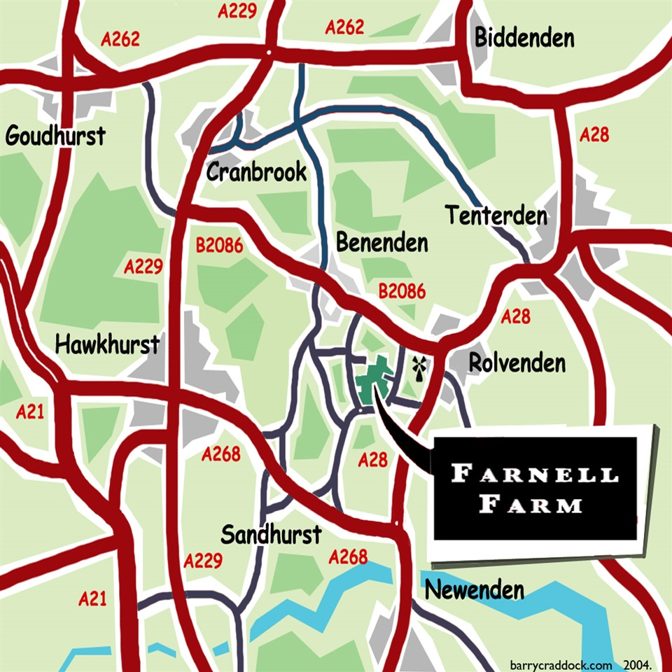 Farnell Farm Map