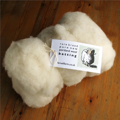 Rare Breed Portland Wool Batting